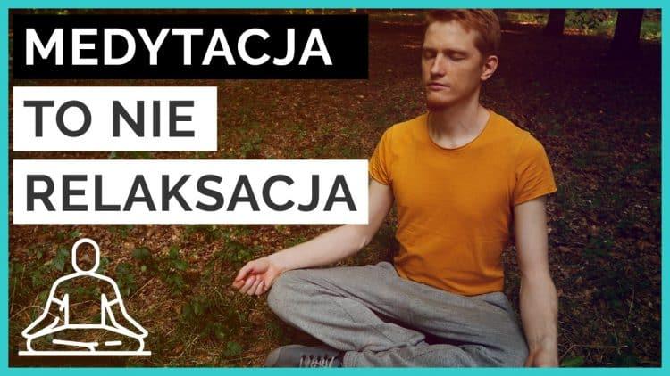 relaksacja a medytacja
