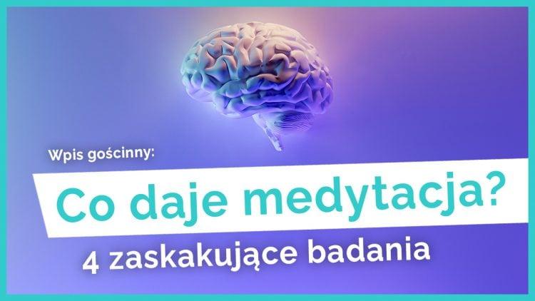 korzyści z medytacji badania